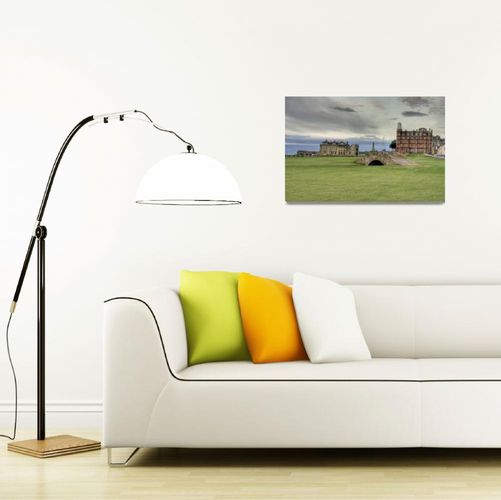 """Swlcan Bridge - St Andrews""  (2009) by skreid"