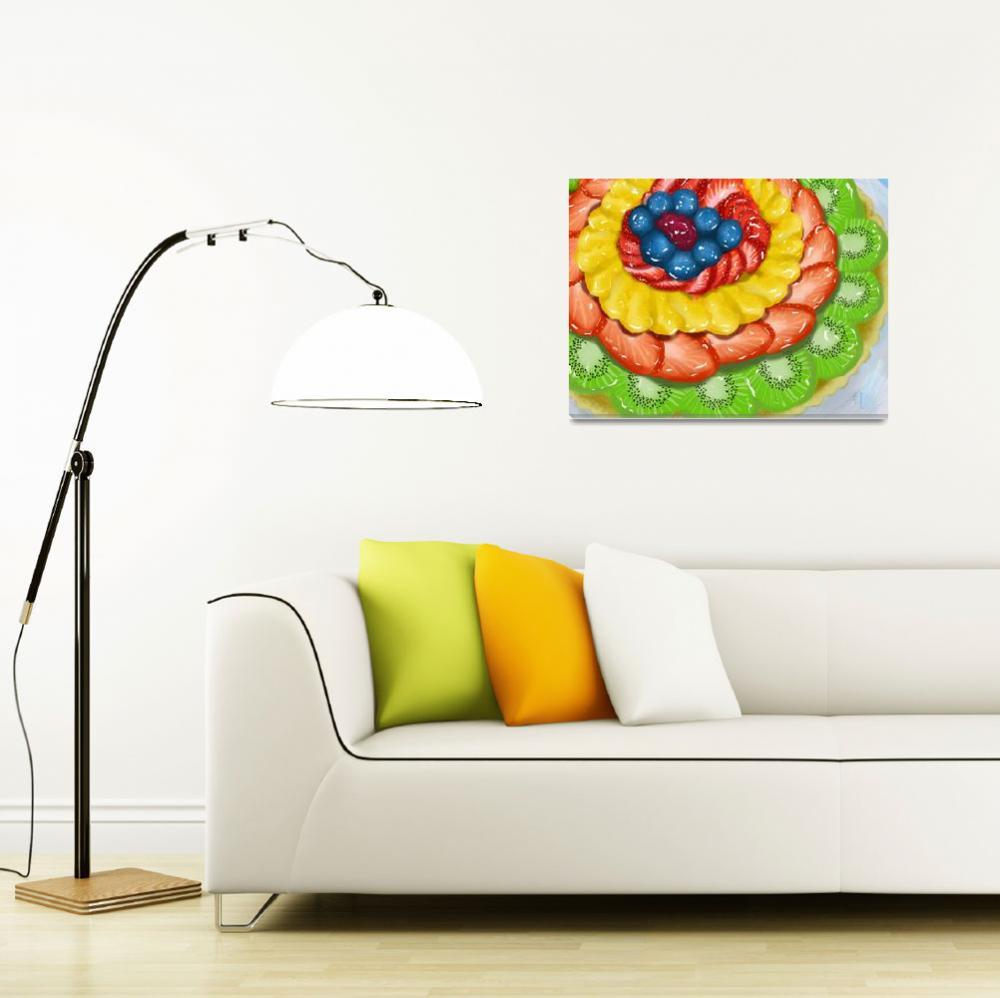 """""""Fruit Tart""""  (2016) by Beverlyholtzemart"""