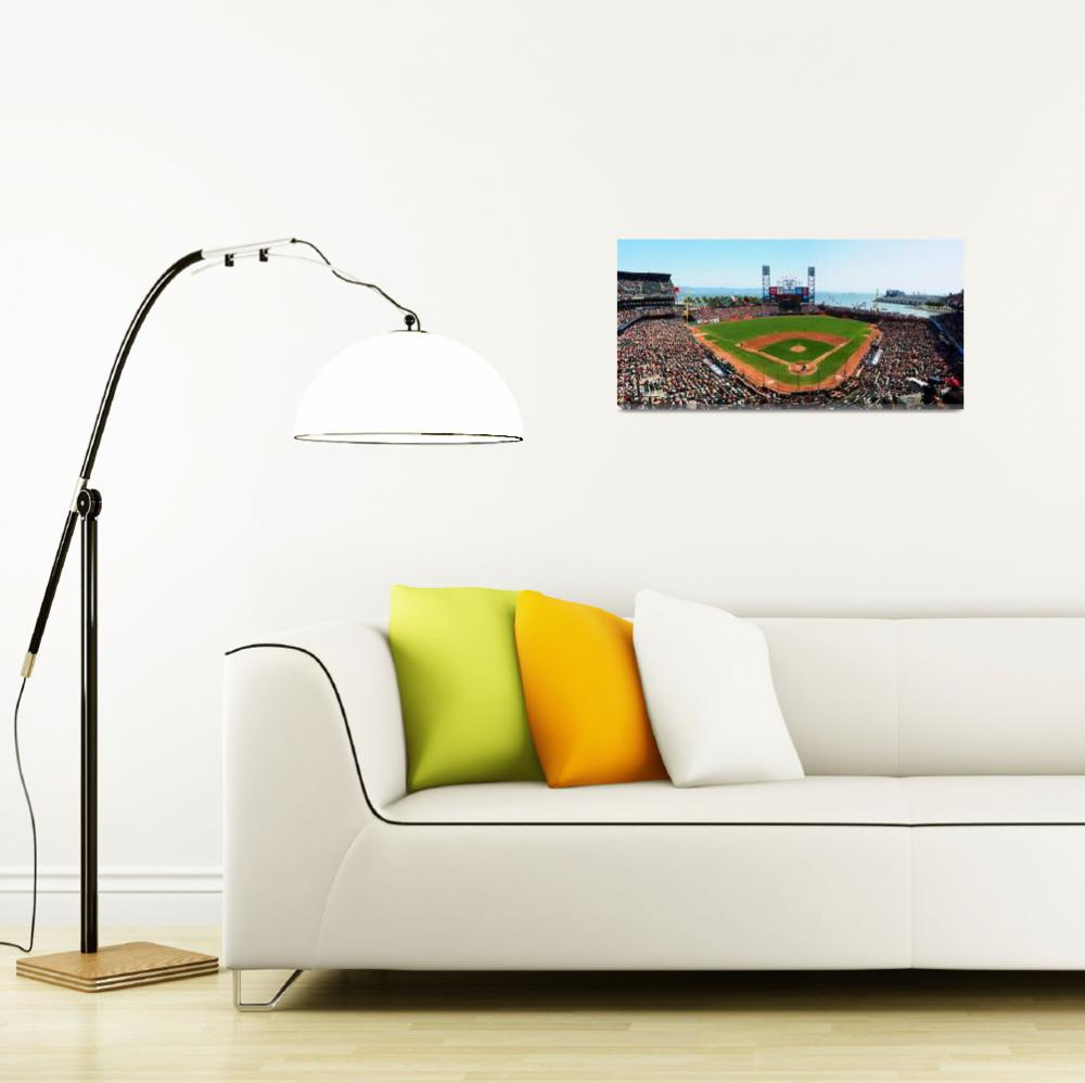 """""""San Francisco AT&T Ballpark&quot  (2015) by CHApperson"""