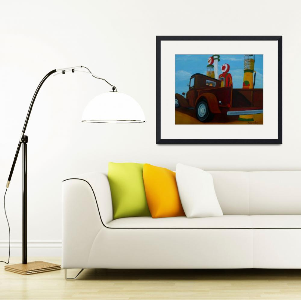 """""""The Work Truck""""  (2014) by anthonydunphy"""