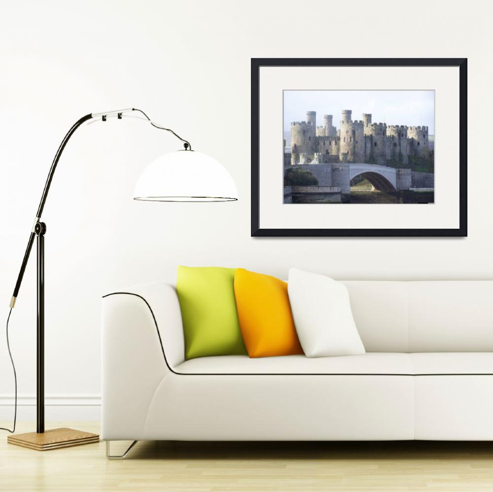 """""""CONWY CASTLE NORTH WALES&quot  (2007) by ccrcats"""