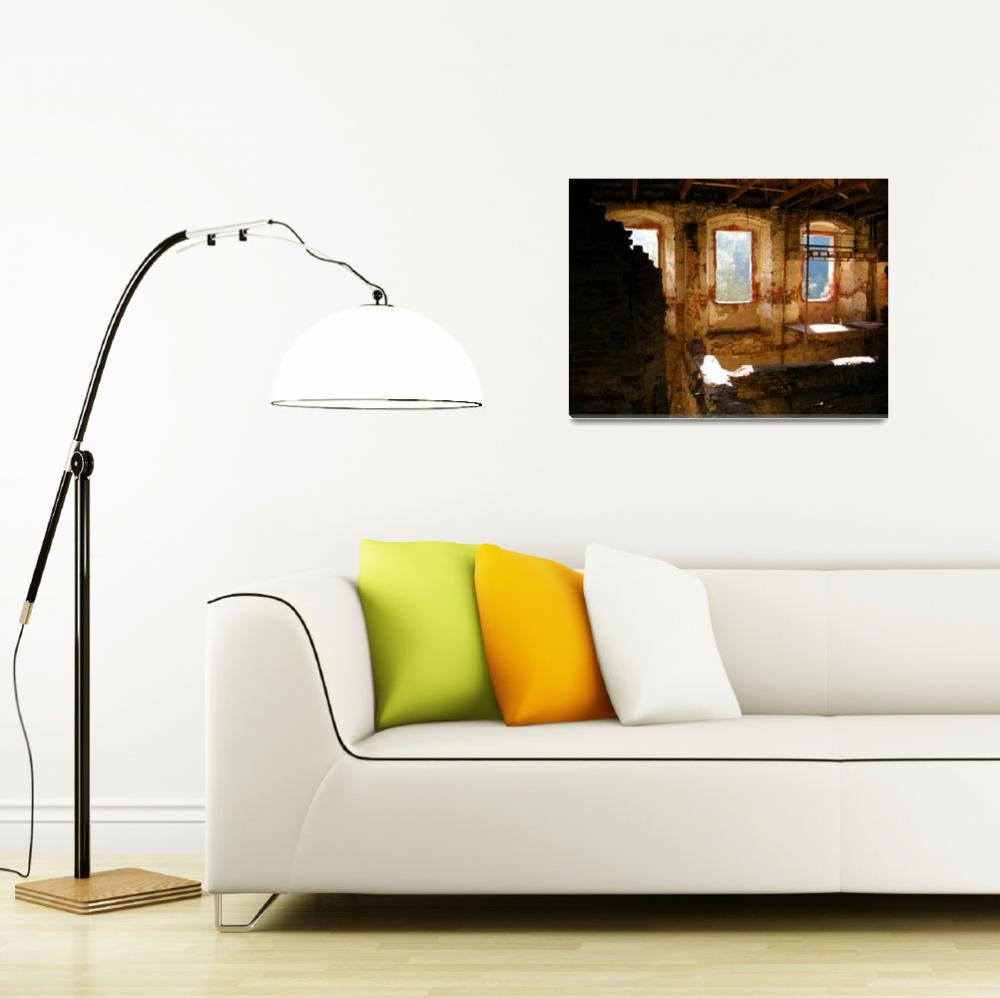 """""""Interior Shot of an Old Castle&quot  by Artsart"""