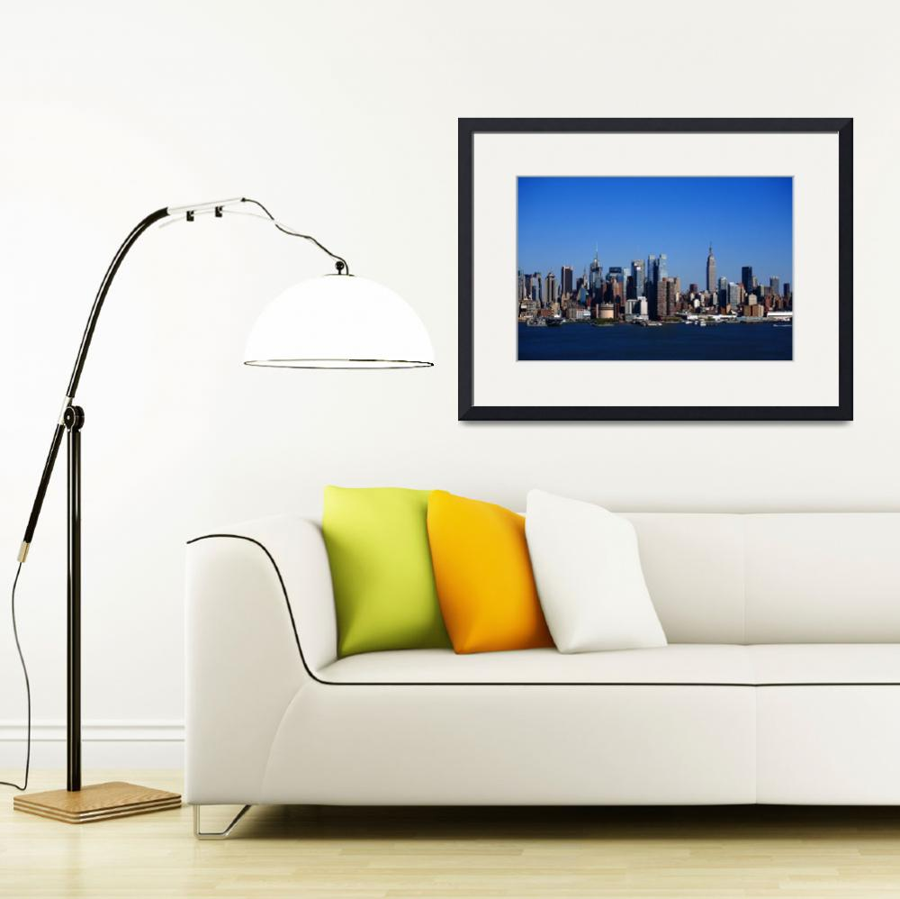 """""""New York City Skyline 2012""""  (2012) by Ffooter"""