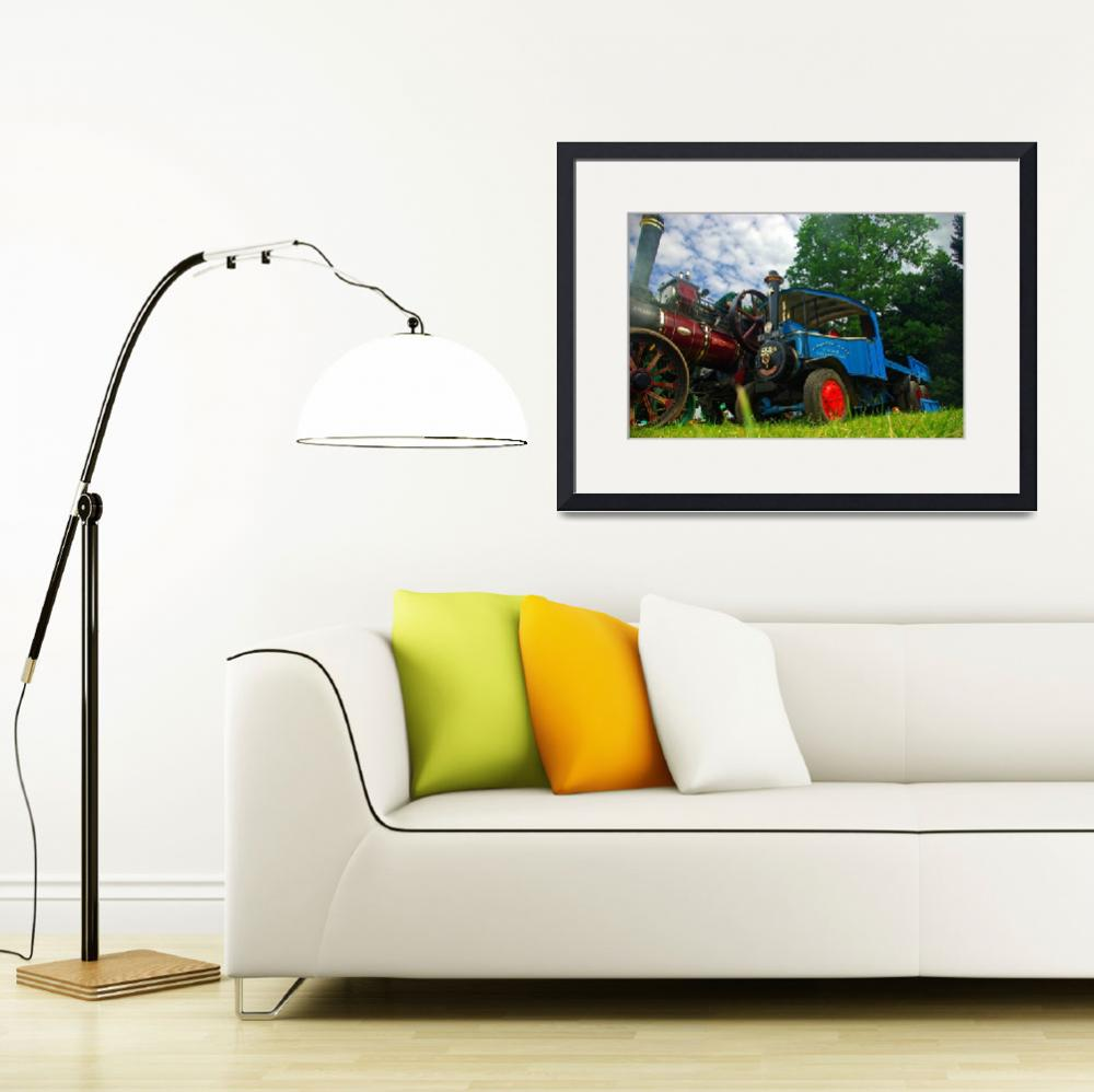 """""""Miniture Foden Steam Traction Lorry&quot  (2011) by loversdream"""