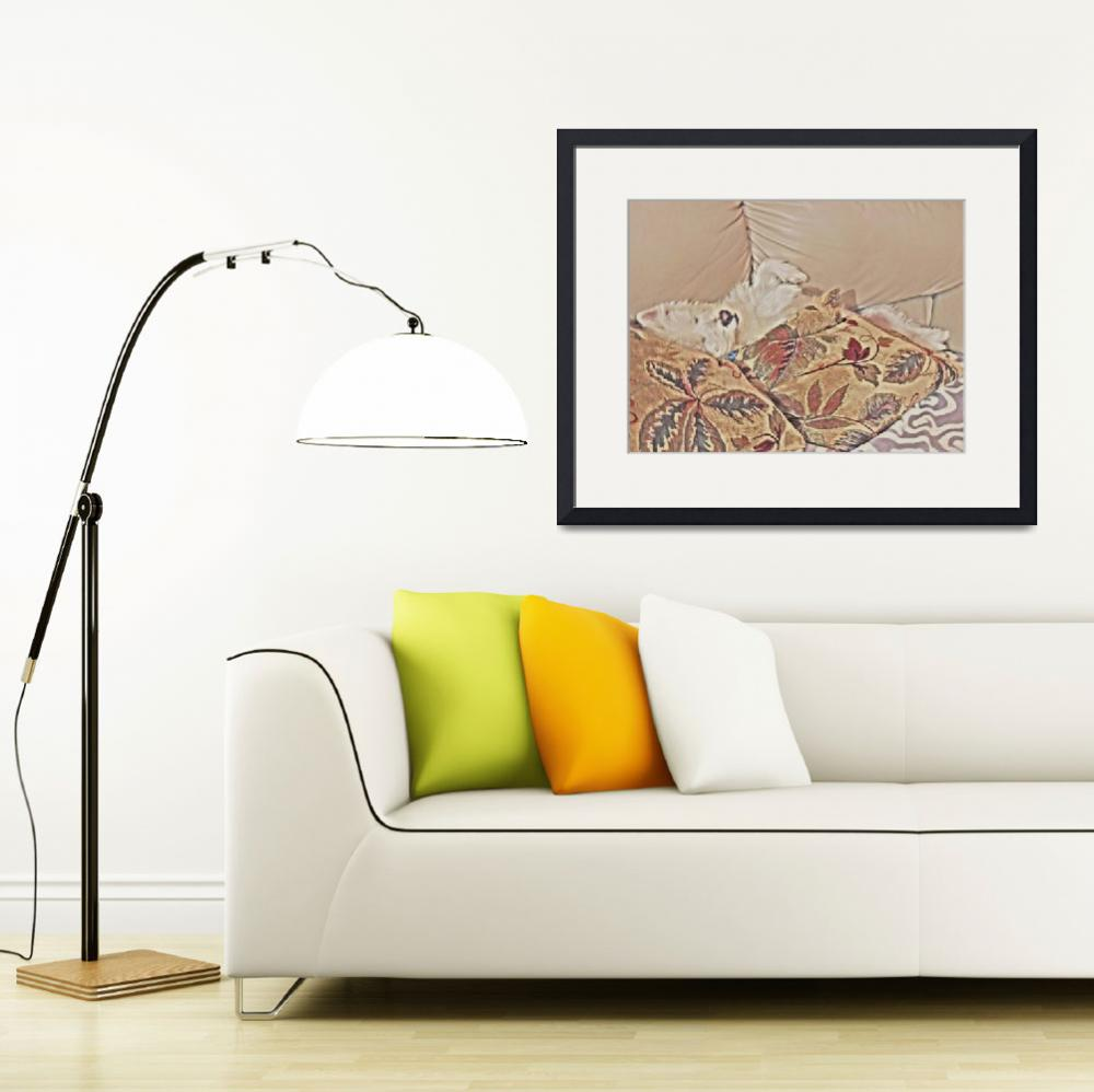 """""""Relaxing Time - West Highland White Terrier""""  by artsandi"""