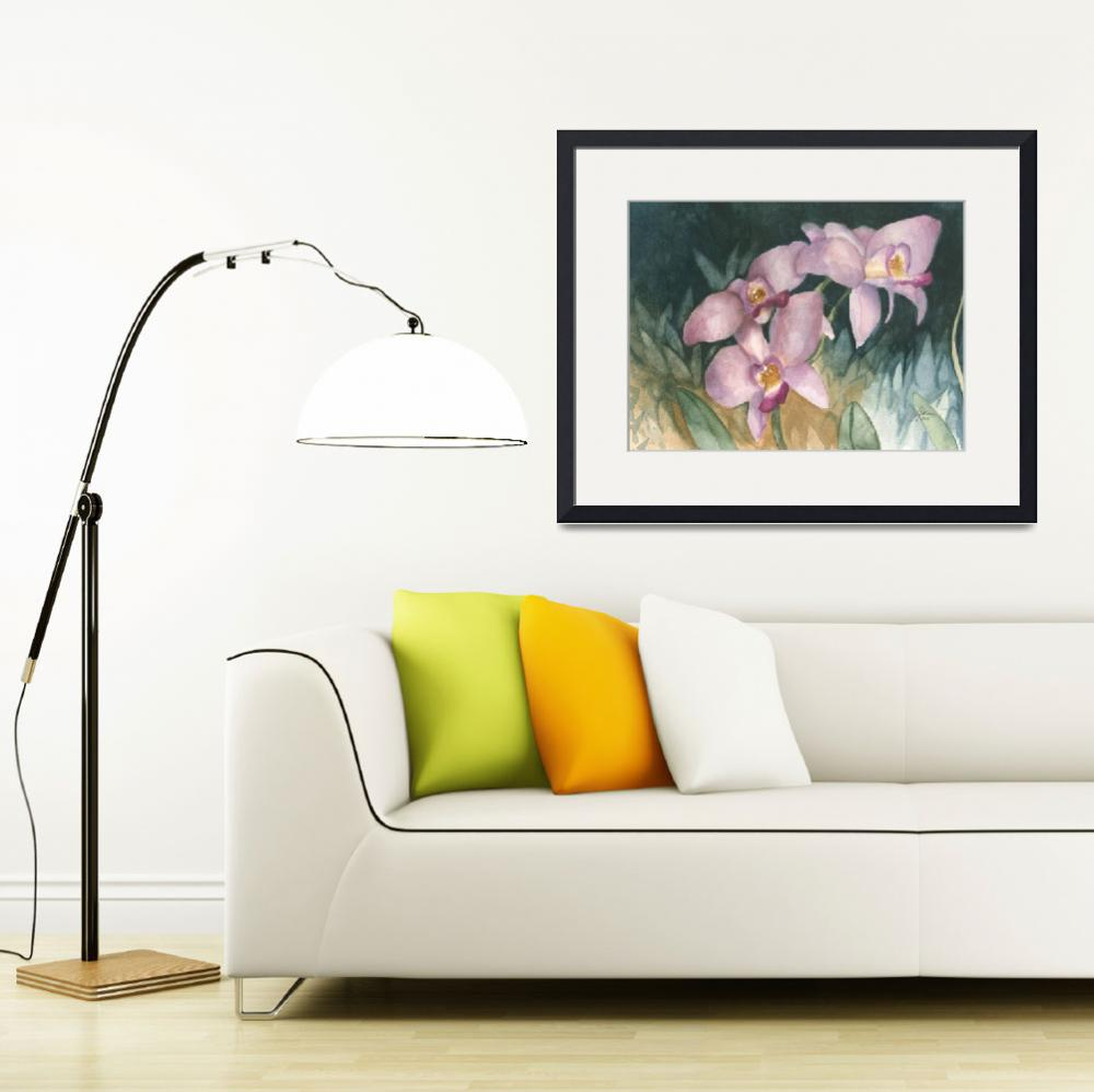 """""""Orchid Elegance&quot  (2008) by JeffMoserArt"""