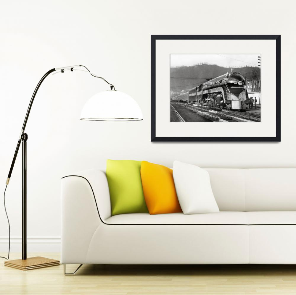 """Norfolk & Western class J on display&quot  by KalmbachPublishing"