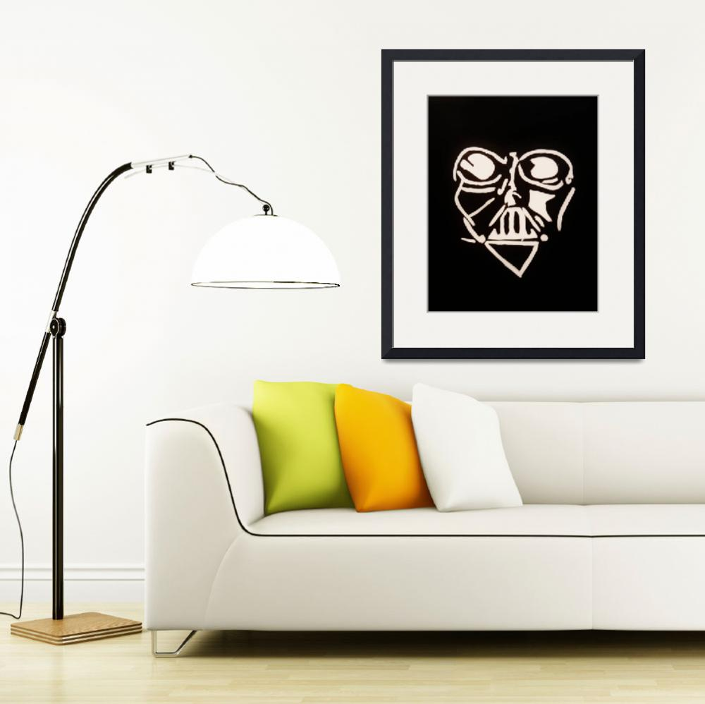 """""""Vader Has A Heart&quot  (2010) by Studio31"""