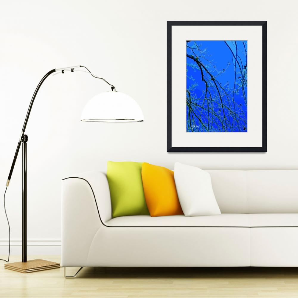 """""""Promise of Spring in Blue&quot  (2014) by judithschmidt"""