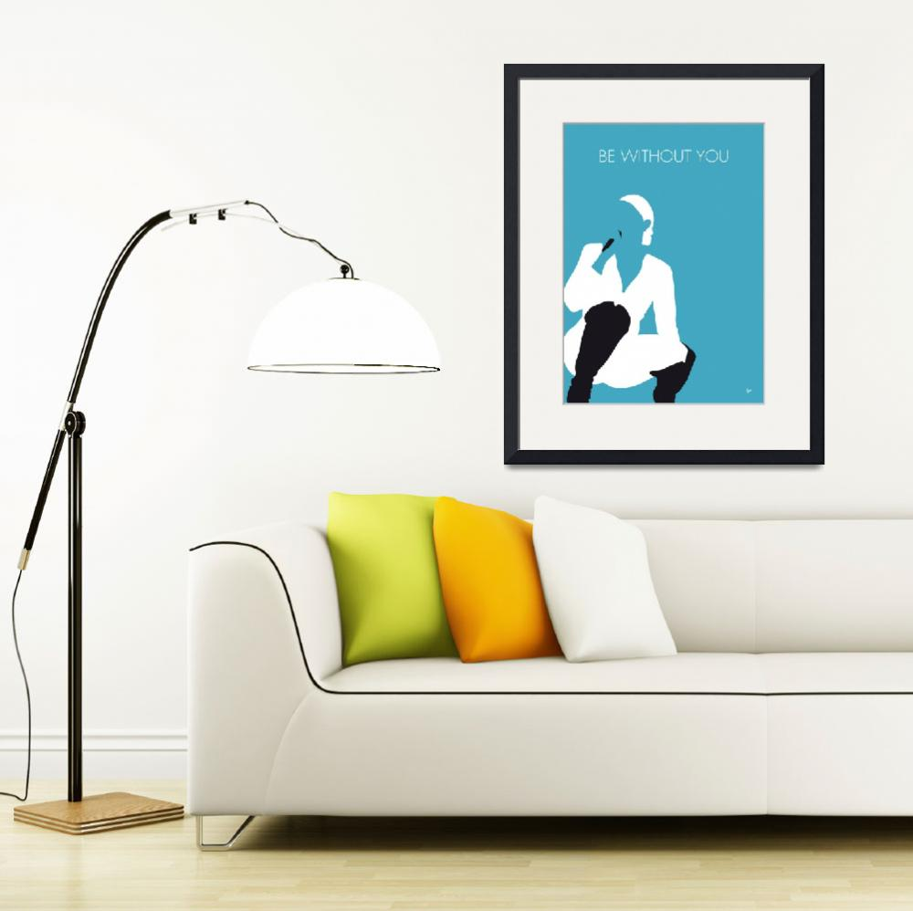 """No185 MY MaryJBligE Minimal Music poster&quot  by Chungkong"