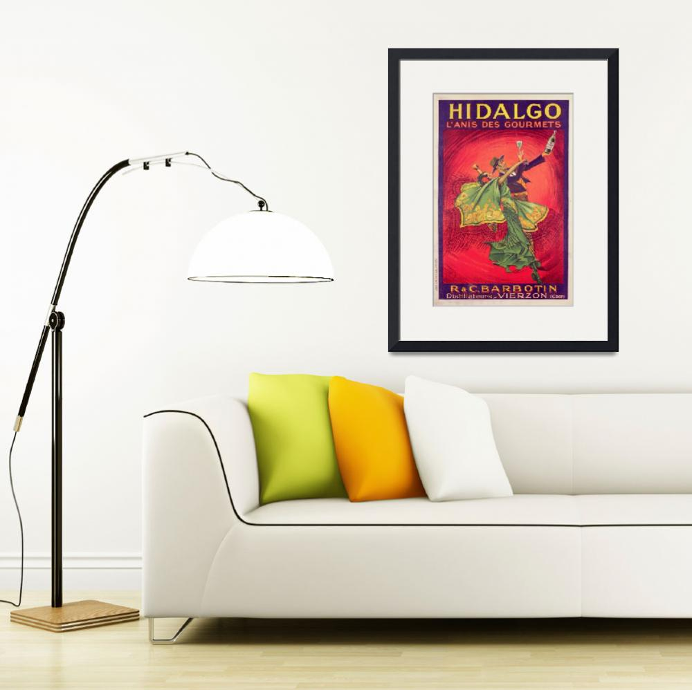 """Poster advertising the drink Hidalgo""  by fineartmasters"
