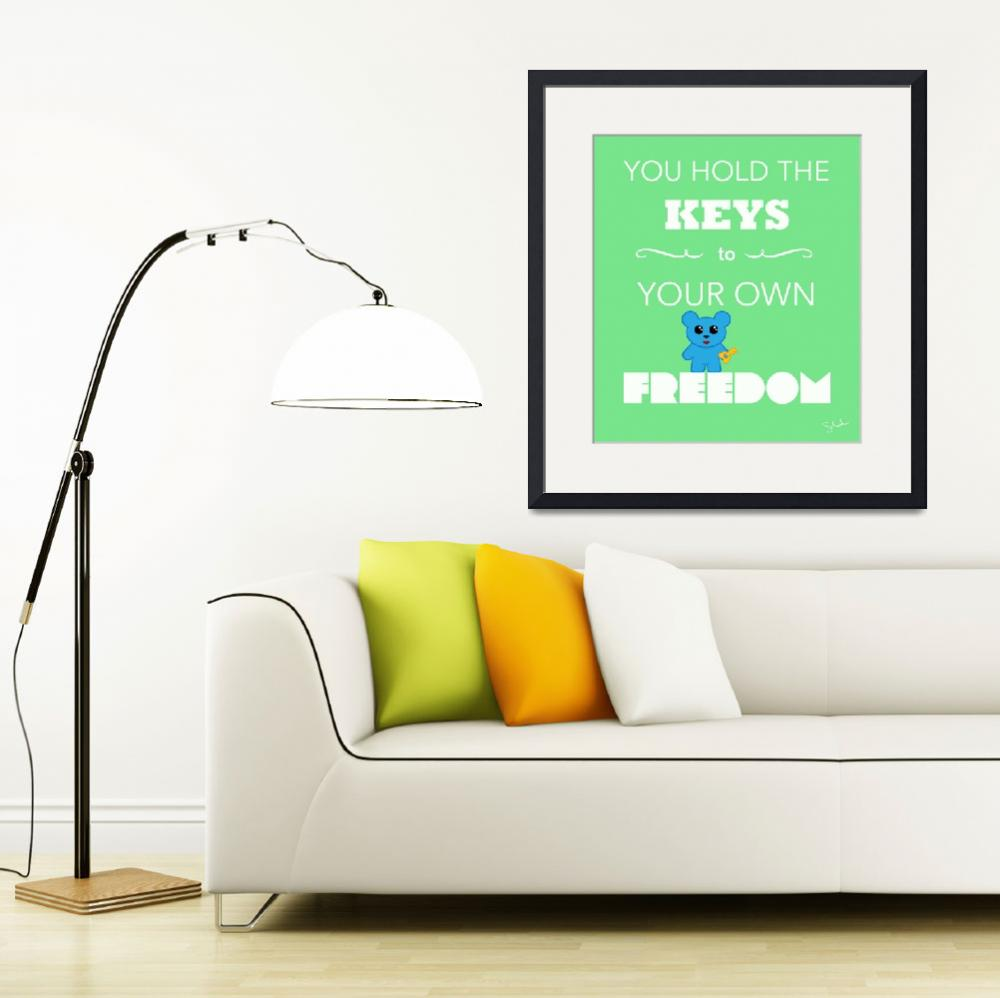 """Keys to Freedom""  (2010) by zetalabs"