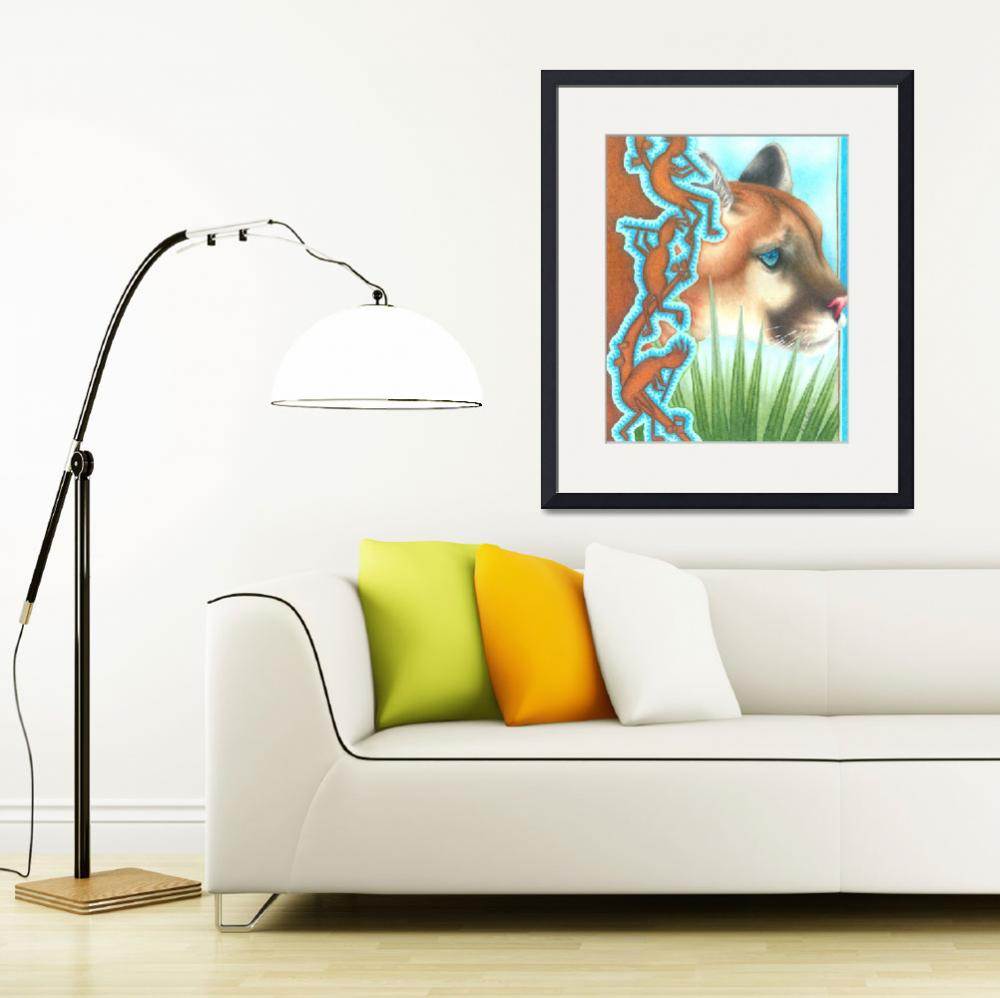 """""""Florida Panther""""  (2009) by RobynPatterson"""