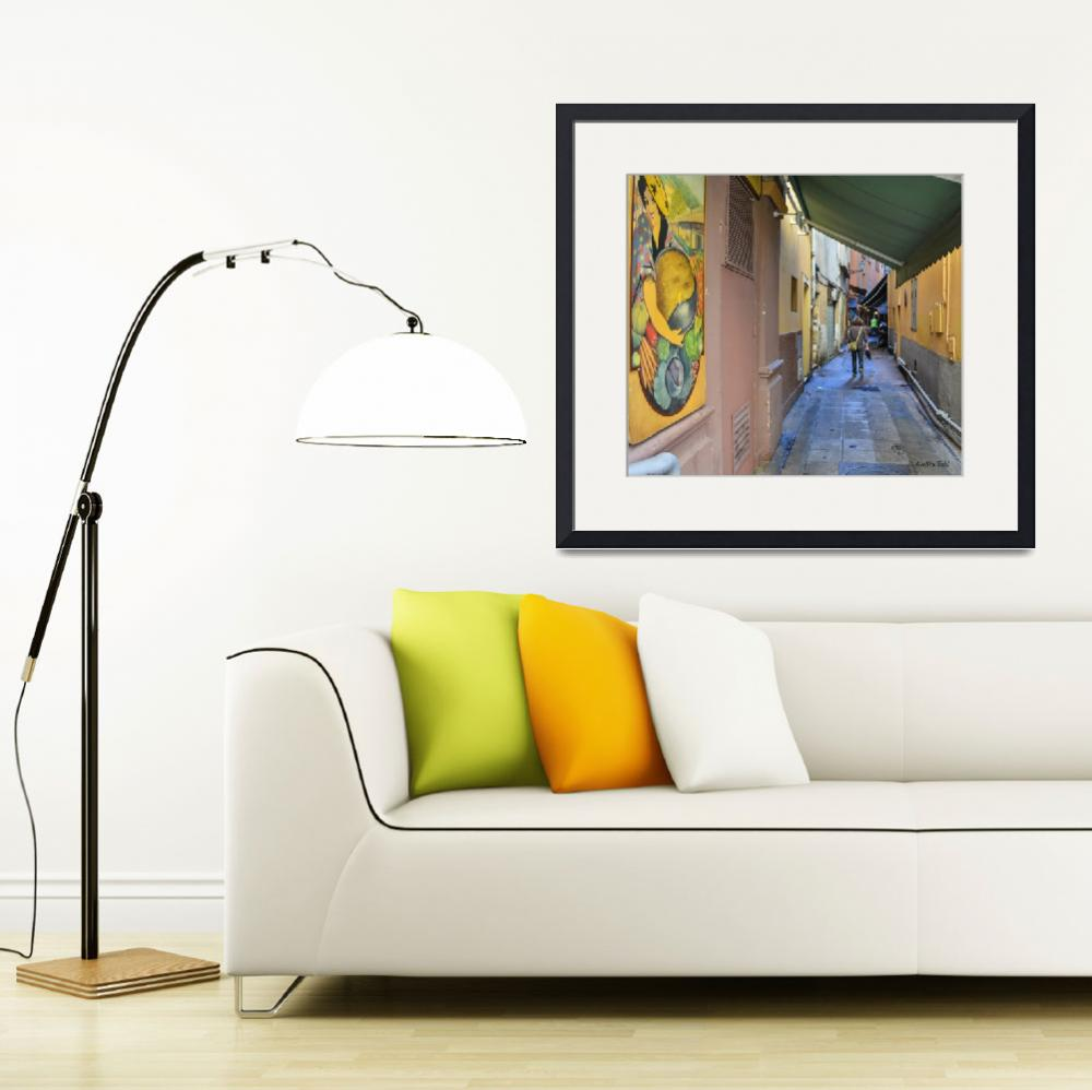 """""""Alley in Nice, France&quot  (2012) by awsheffield"""