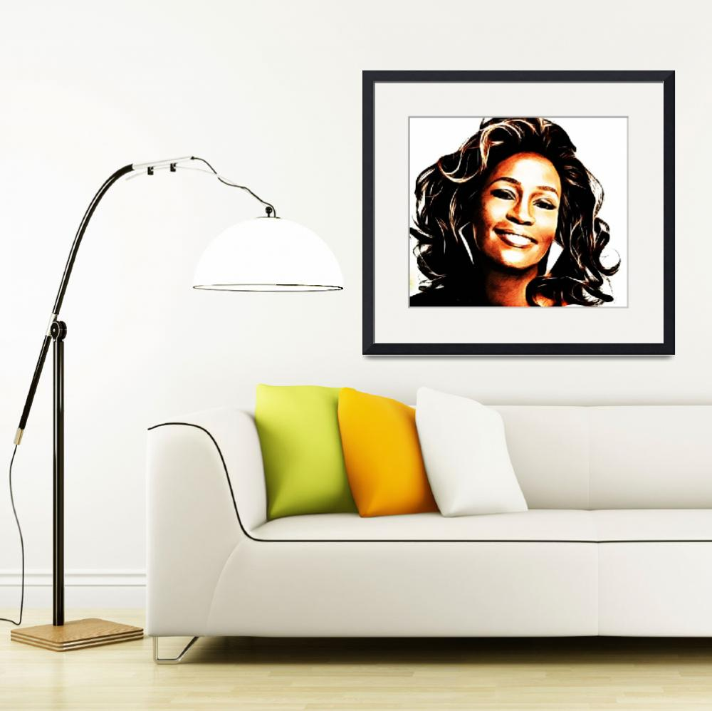 """Whitney Houston""  (2012) by D77TheDigArtisT"