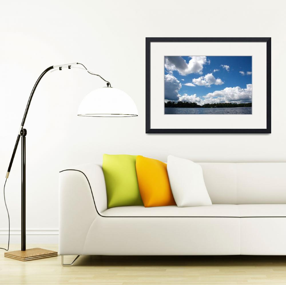 """""""lake and sky&quot  (2008) by AdachiPhotography"""