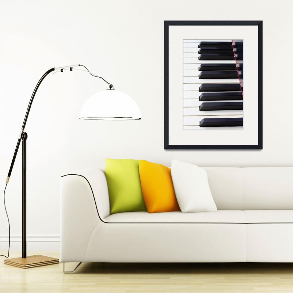 """""""Piano Keys Verticle&quot  by WorldDesign"""