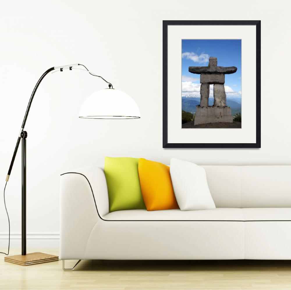 """Inuksuk at Whistler&quot  (2011) by KsWorldArt"