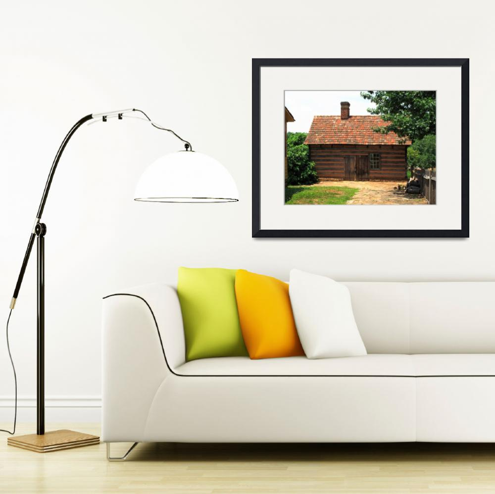 """Winston-Salem, NC - Old Salem Cottage&quot  (2009) by Ffooter"