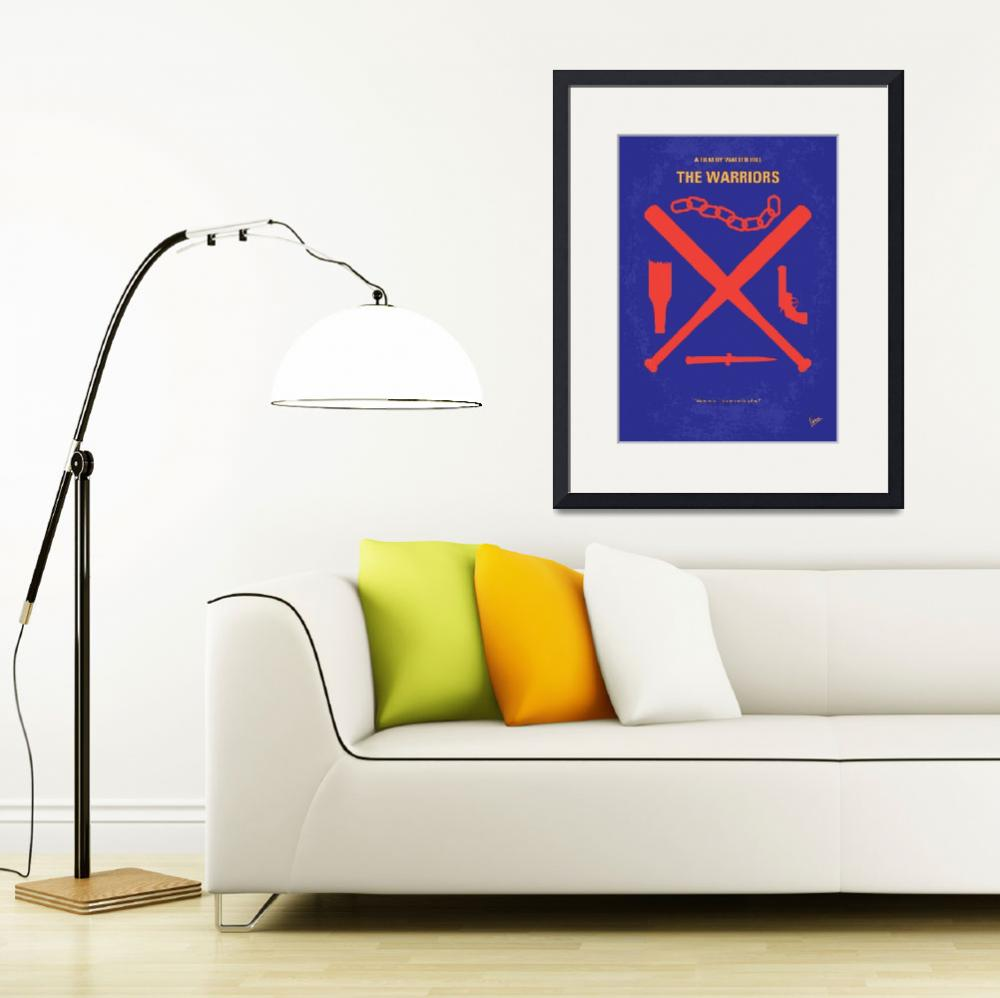 """""""No403 My The Warriors minimal movie poster&quot  by Chungkong"""