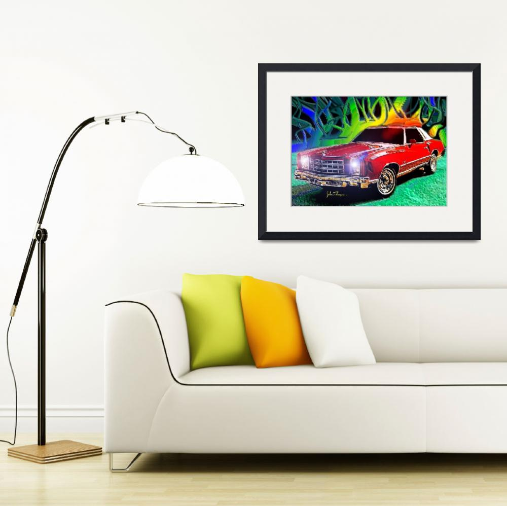 """""""1976 Chevy Monte Carlo&quot  (2012) by jt85"""