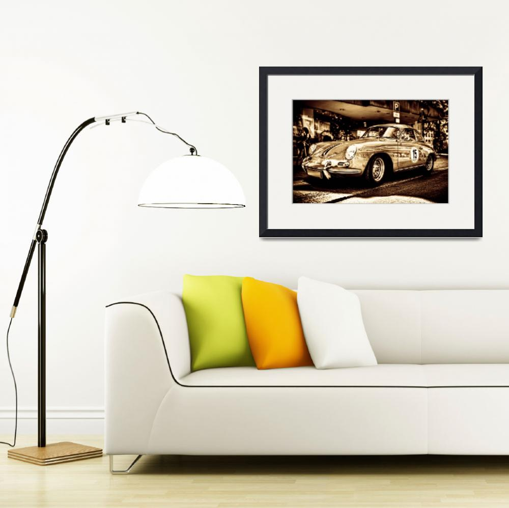 """""""Old Porsche 3&quot  (2011) by wulfman65"""