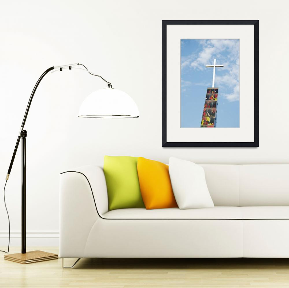 """""""Cross In The Heavens&quot  (2014) by robnelmsphotography"""
