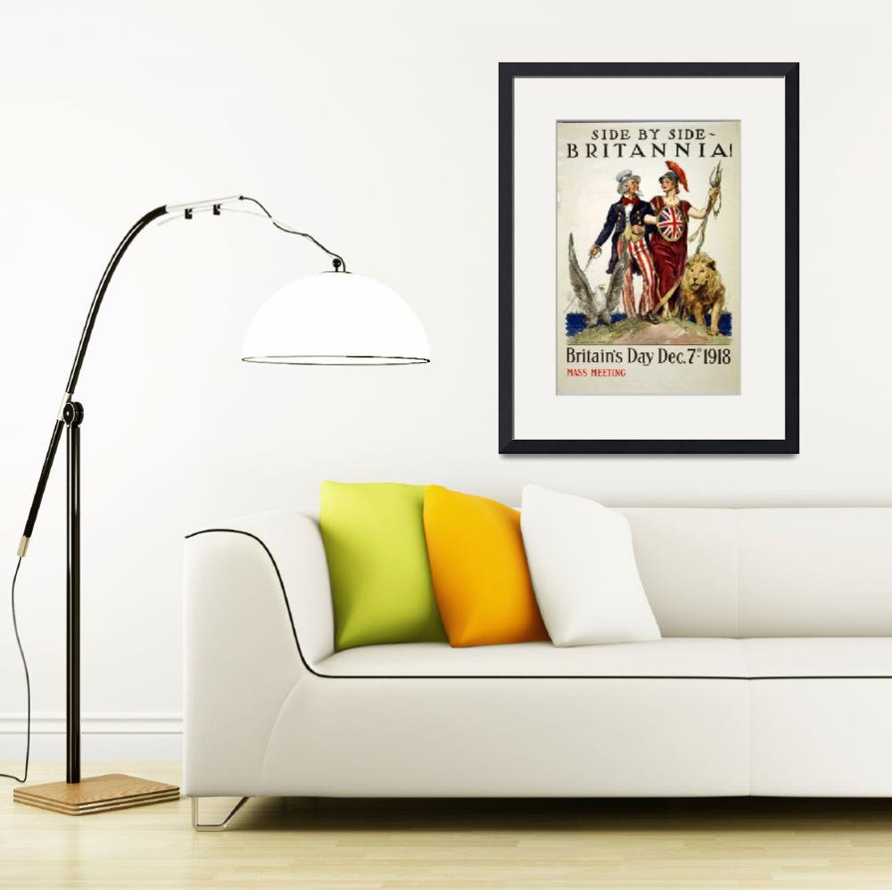 """""""WORLD WAR ONE POSTER&quot  (1918) by homegear"""