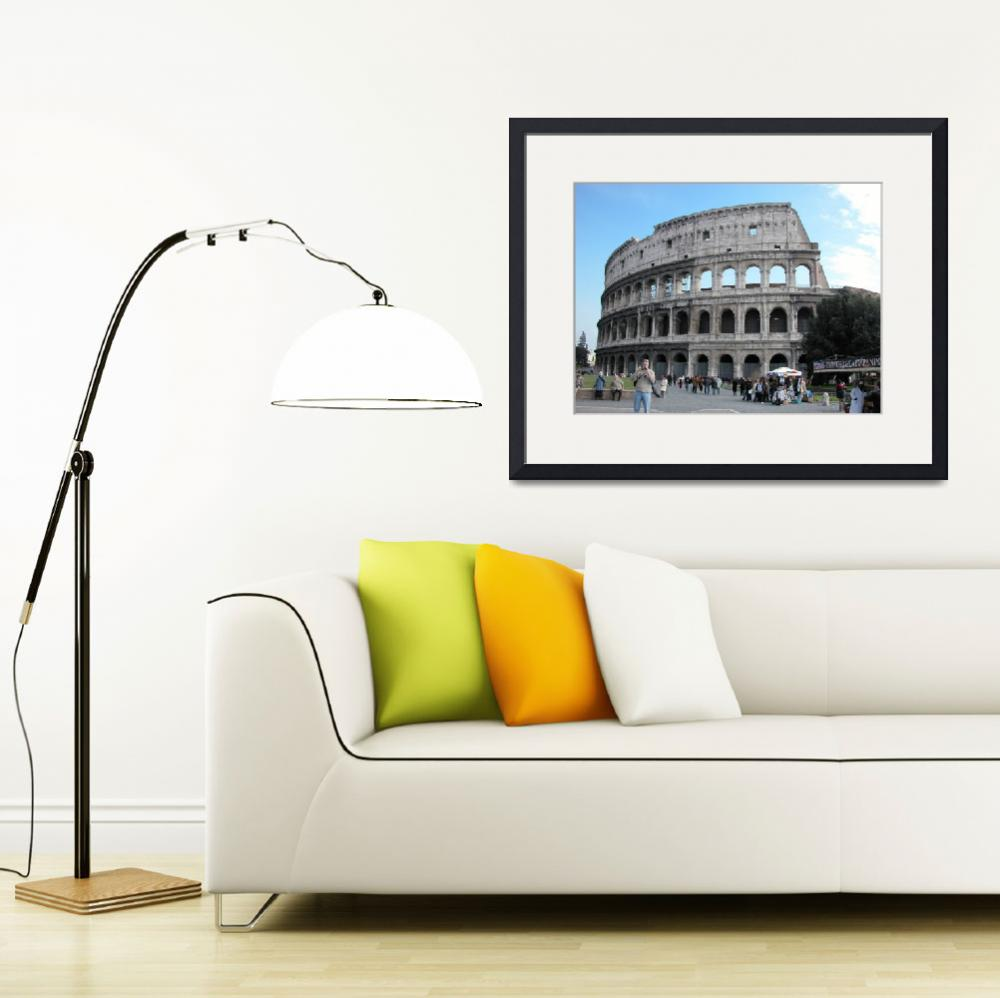 """""""il colosseo&quot  by martinographics"""