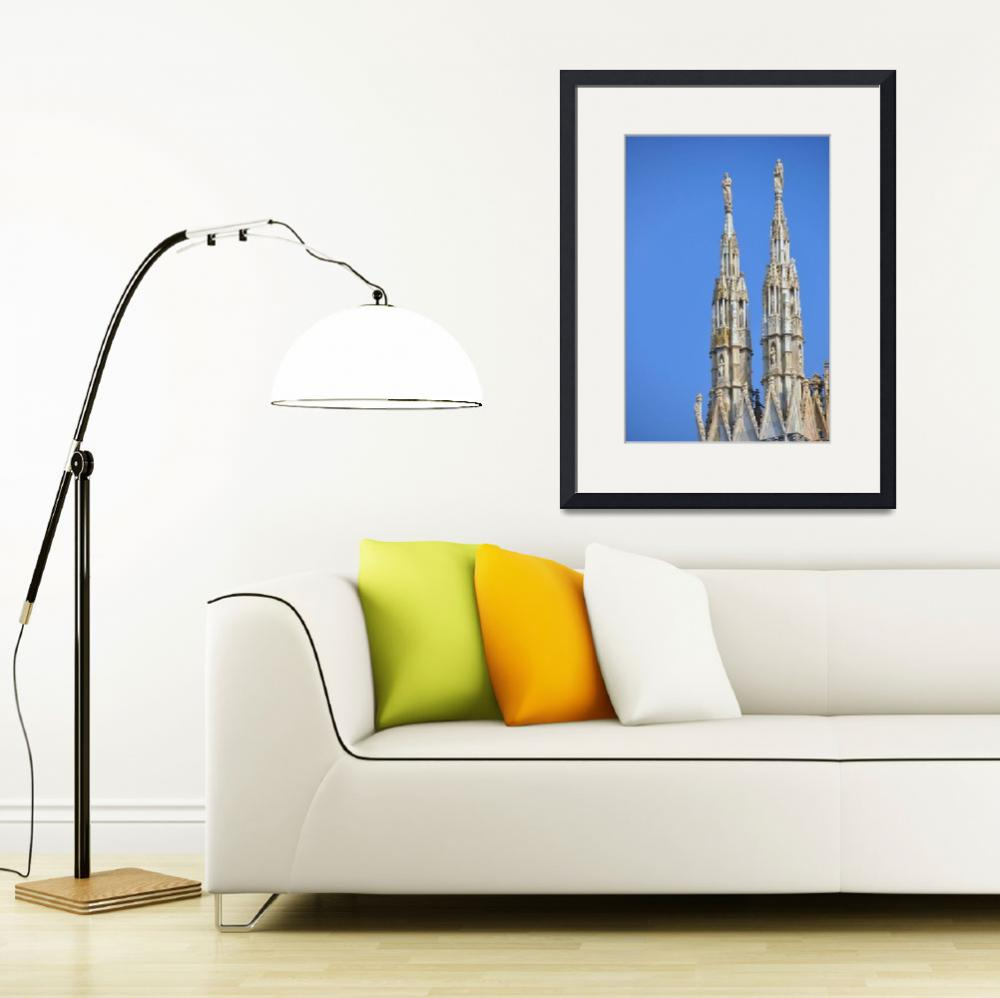 """""""Milan Cathedral&quot  (2010) by Barrywright"""