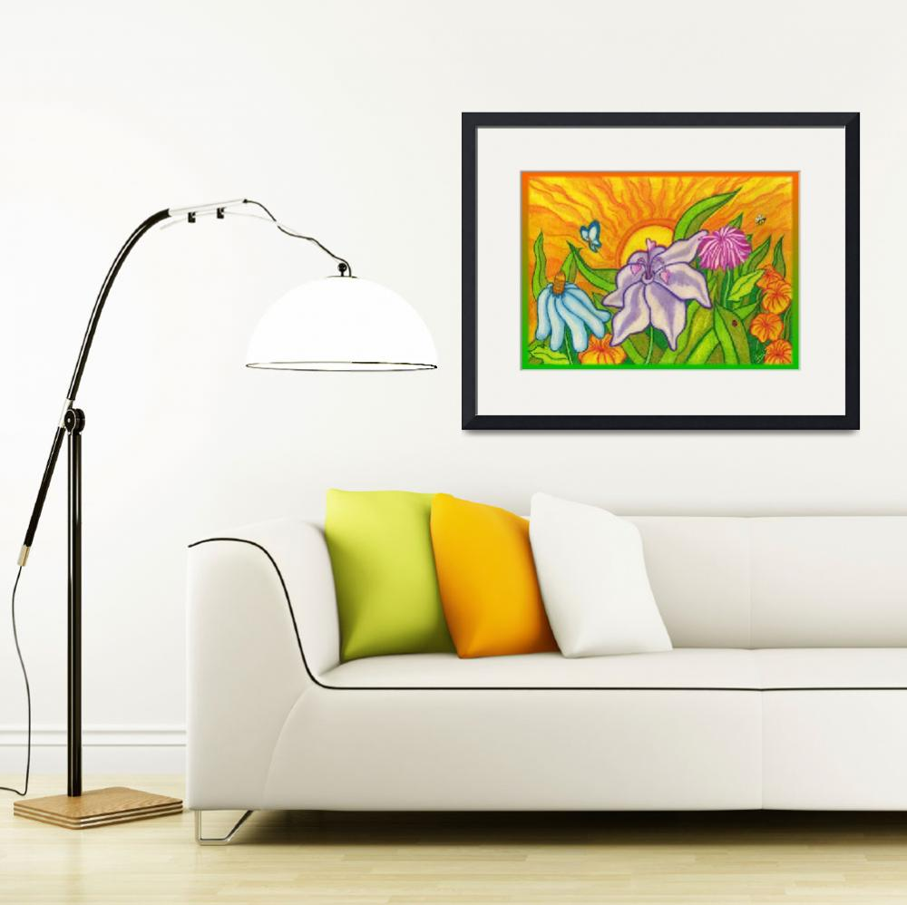 """""""Garden View&quot  (2008) by bambiwatson"""