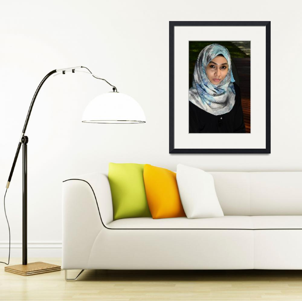 """""""ZUHAIRAH SCARF PRODUCT PHOTOGRAPHY&quot  (2014) by nawfalnur"""