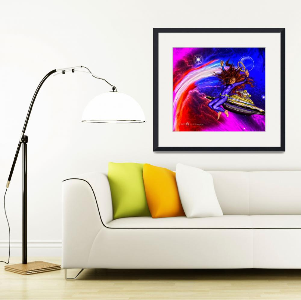 """""""A Colorful Happy Universe""""  (2011) by ix09"""