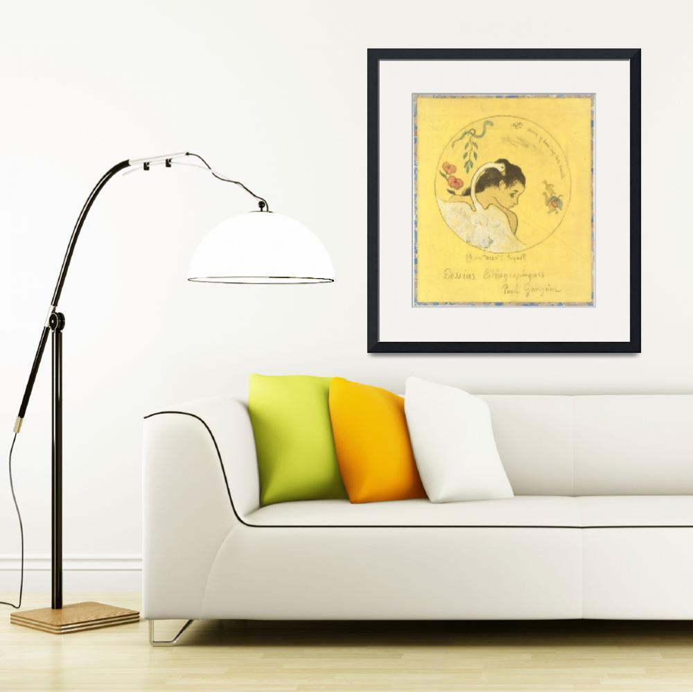"""Paul Gauguin Painting Framed Print""  by LifeHack"