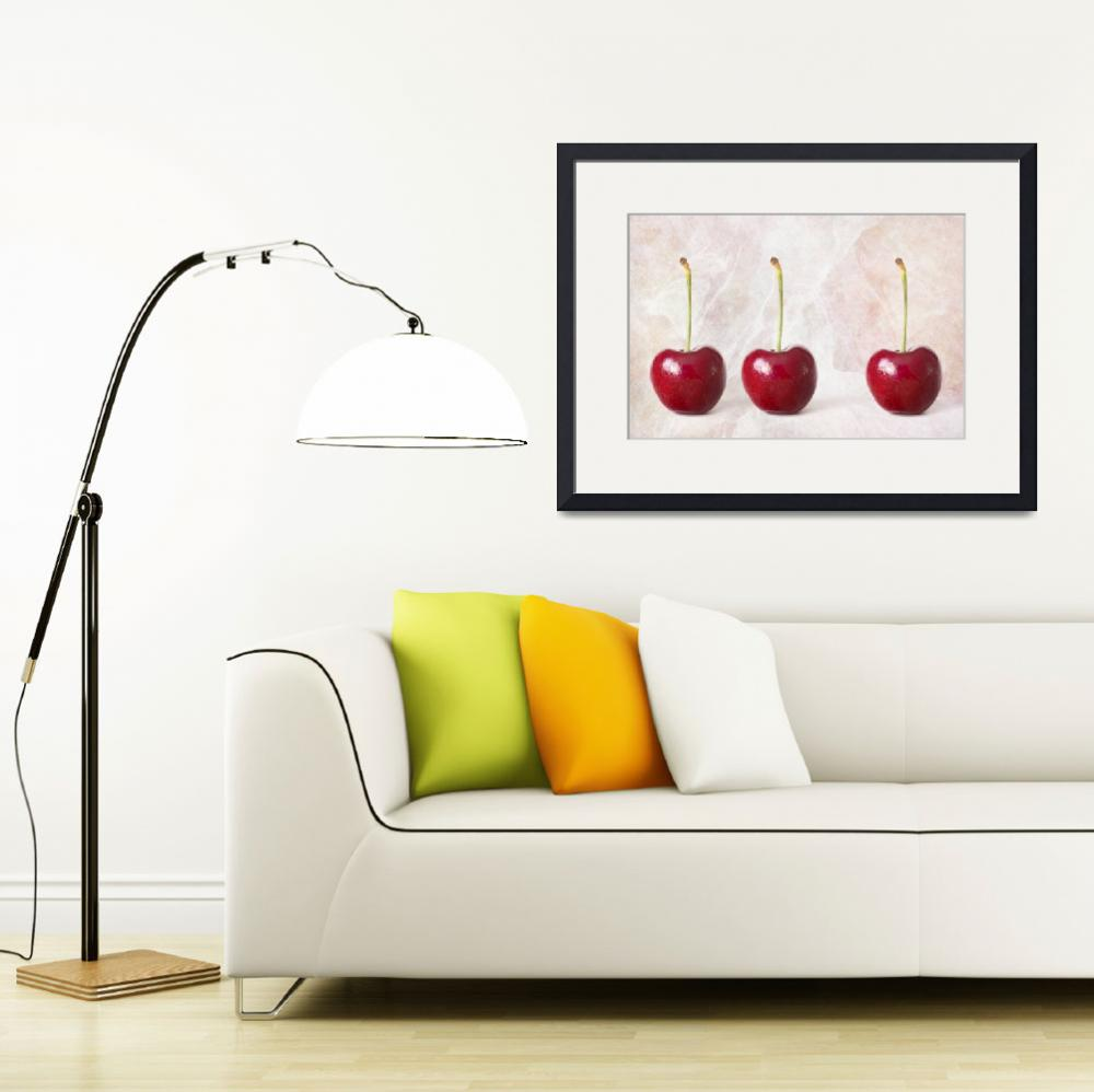 """The Three Cherries""  (2014) by NatalieKinnear"