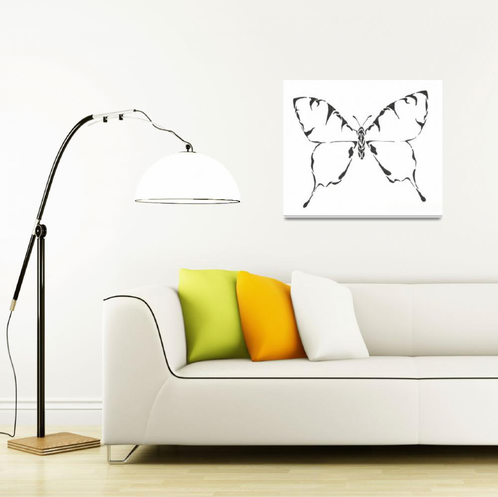 """""""Butterfly Ink&quot  (2010) by matones"""