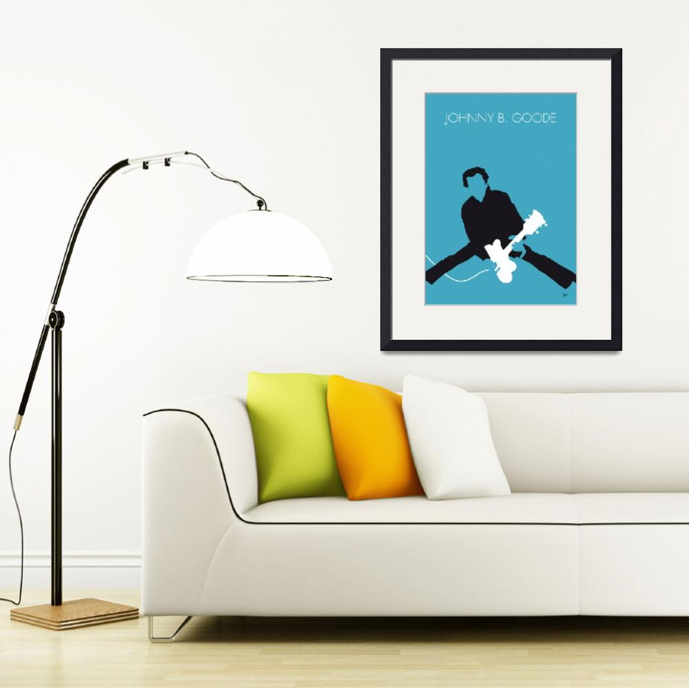 """No015 MY Chuck Berry Minimal Music poster&quot  by Chungkong"