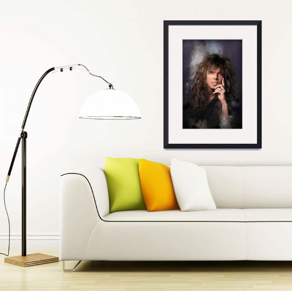 """Joey Tempest""  (2017) by MelanieD"
