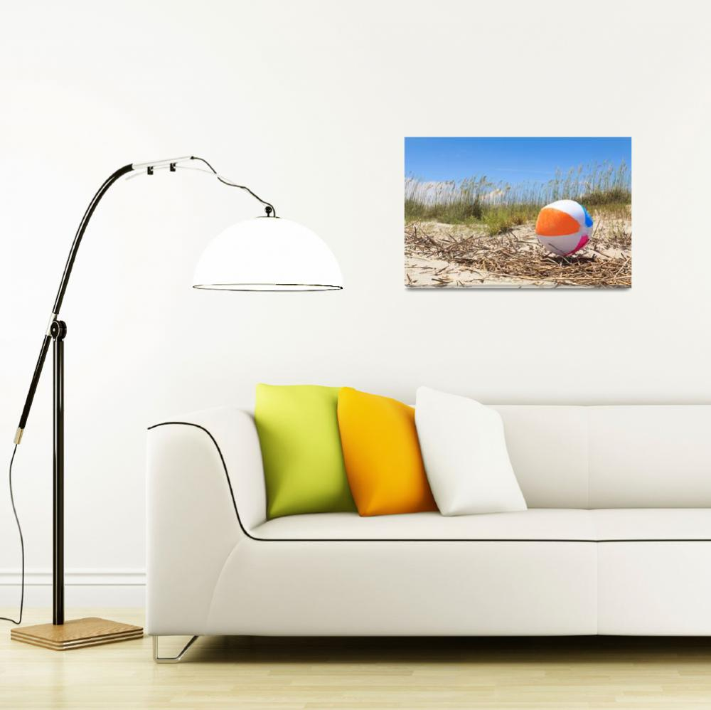 """""""Beach Ball""""  (2012) by OneSweetWorldPhoto"""