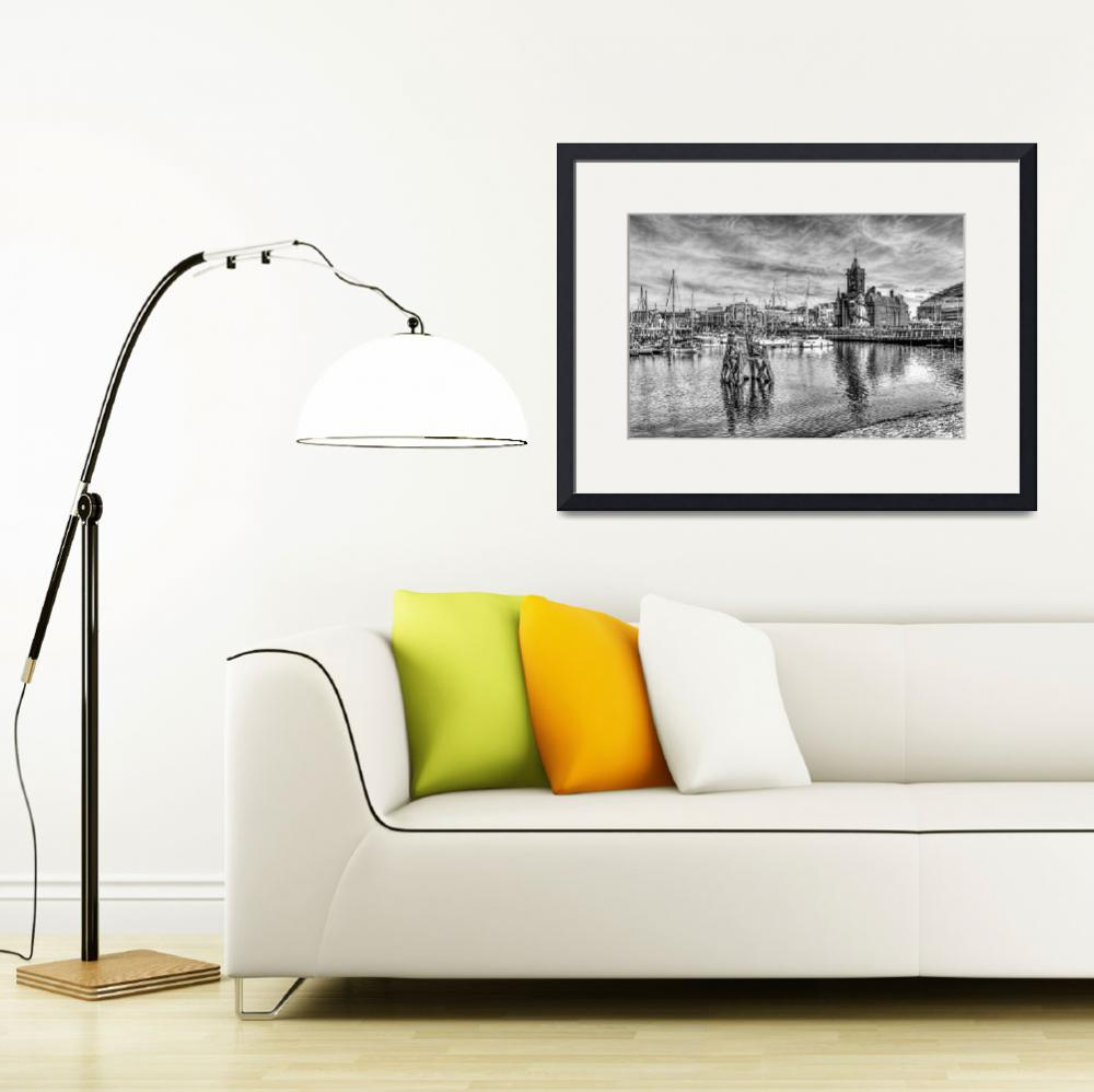 """""""Cardiff Bay And The Pierhead Building&quot  by StevePurnell"""