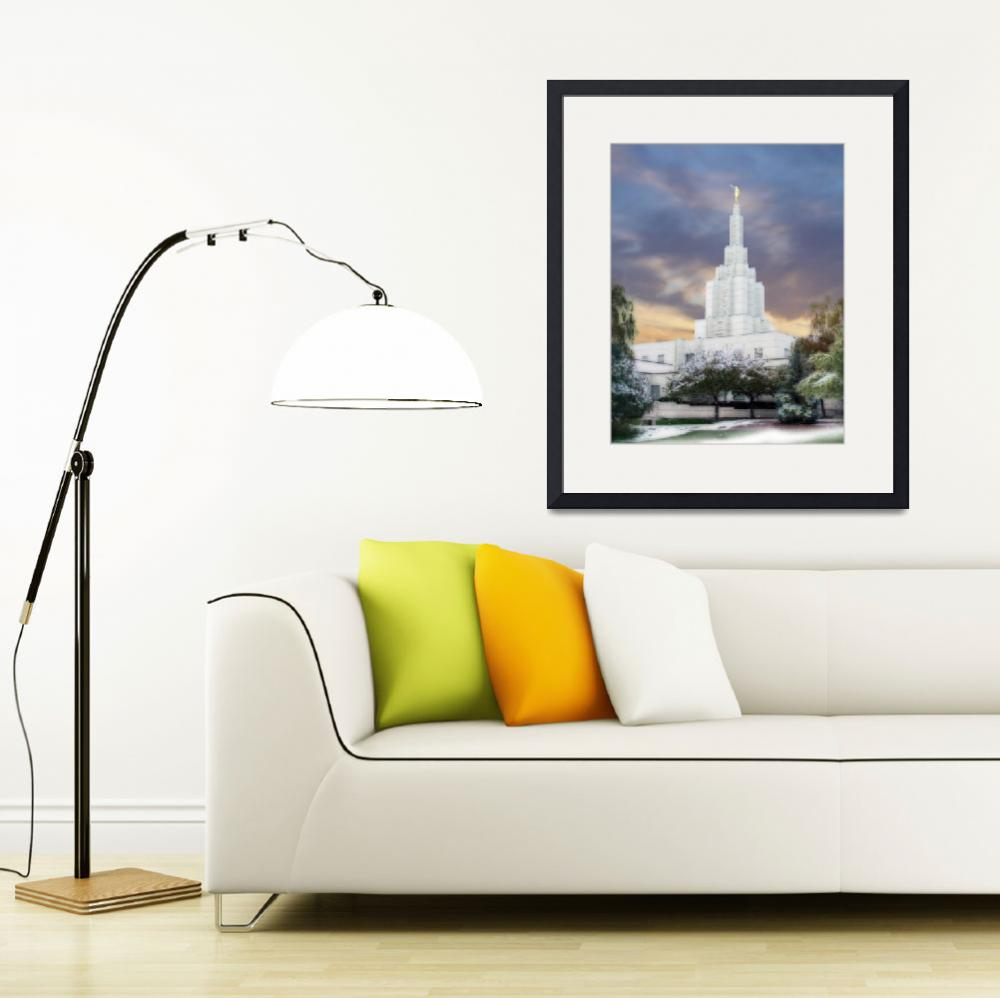 """""""Idaho Falls Temple&quot  by TerrySpringer"""