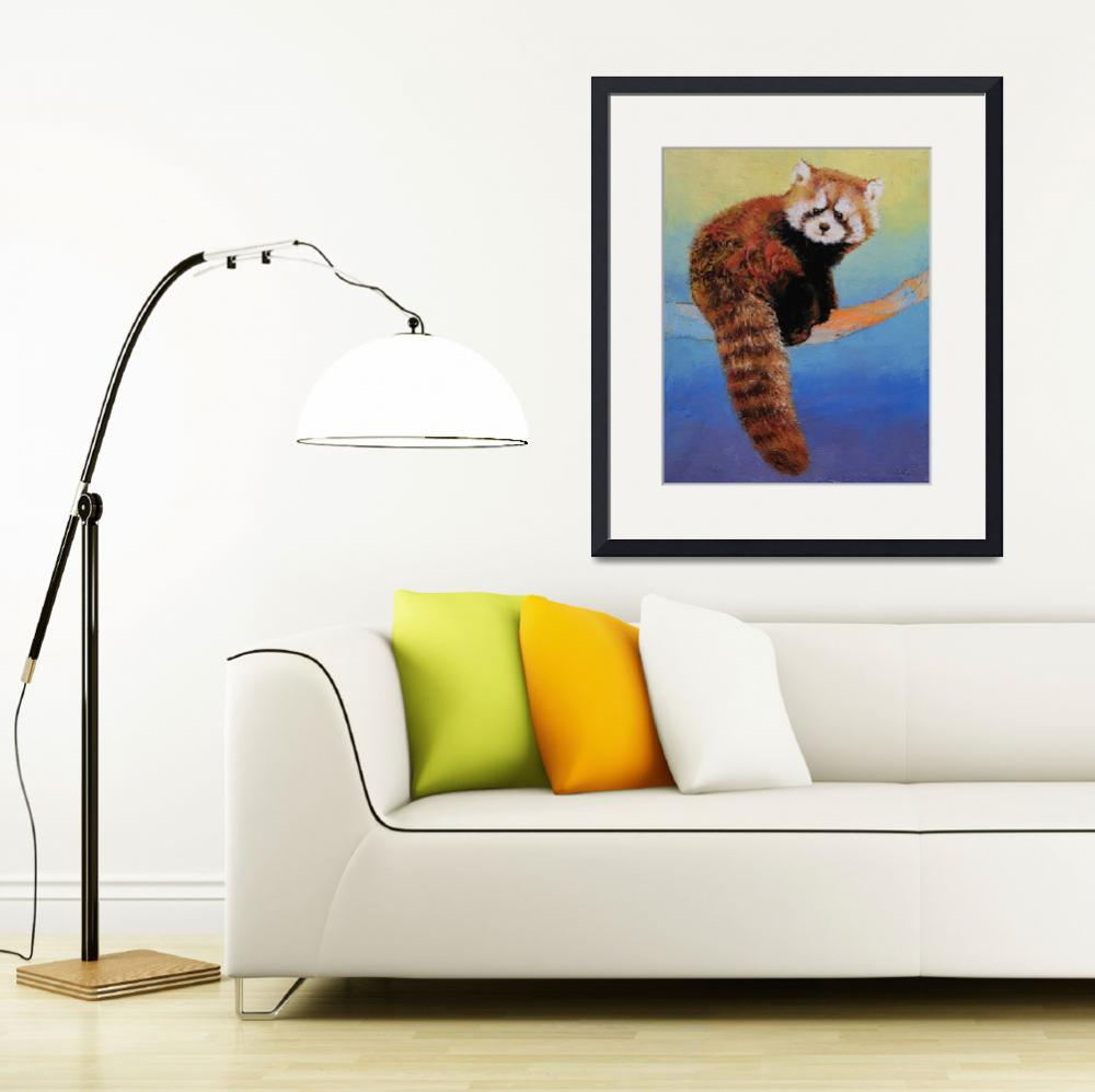 """""""Cute Red Panda&quot  by creese"""
