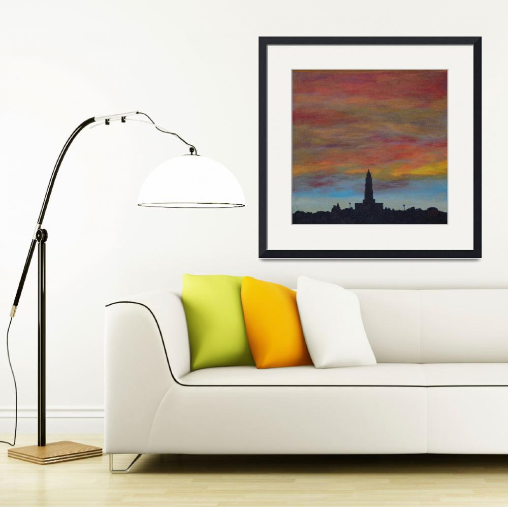 """""""Sunset Over Alexandria&quot  (2015) by Karbstein"""