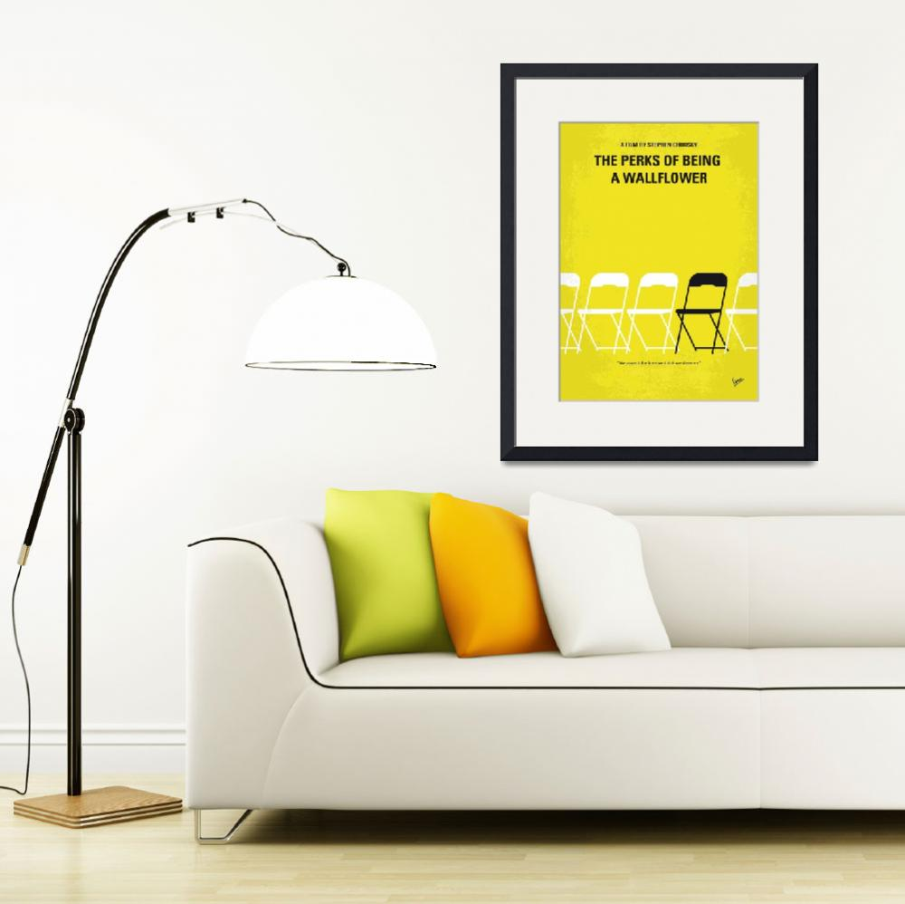 """""""No575 My Perks of Being a Wallflower minimal movie&quot  by Chungkong"""
