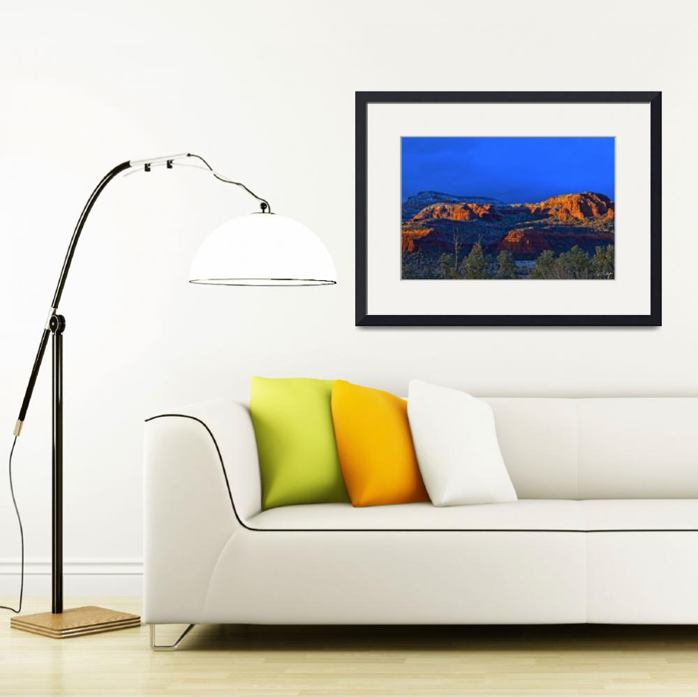 """""""Last Light On Red Rocks&quot  (2013) by PhillDohertyPhotography"""