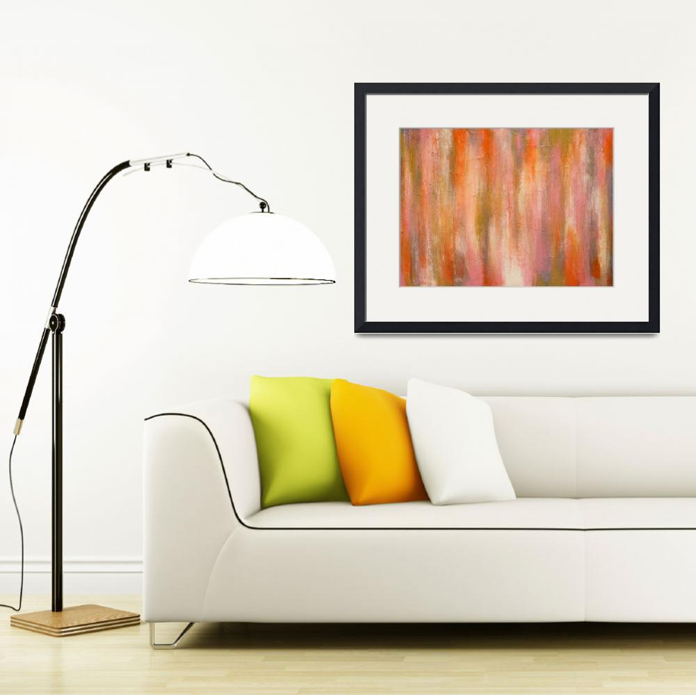 """""""Creamsicle&quot  (2014) by LizMoran"""