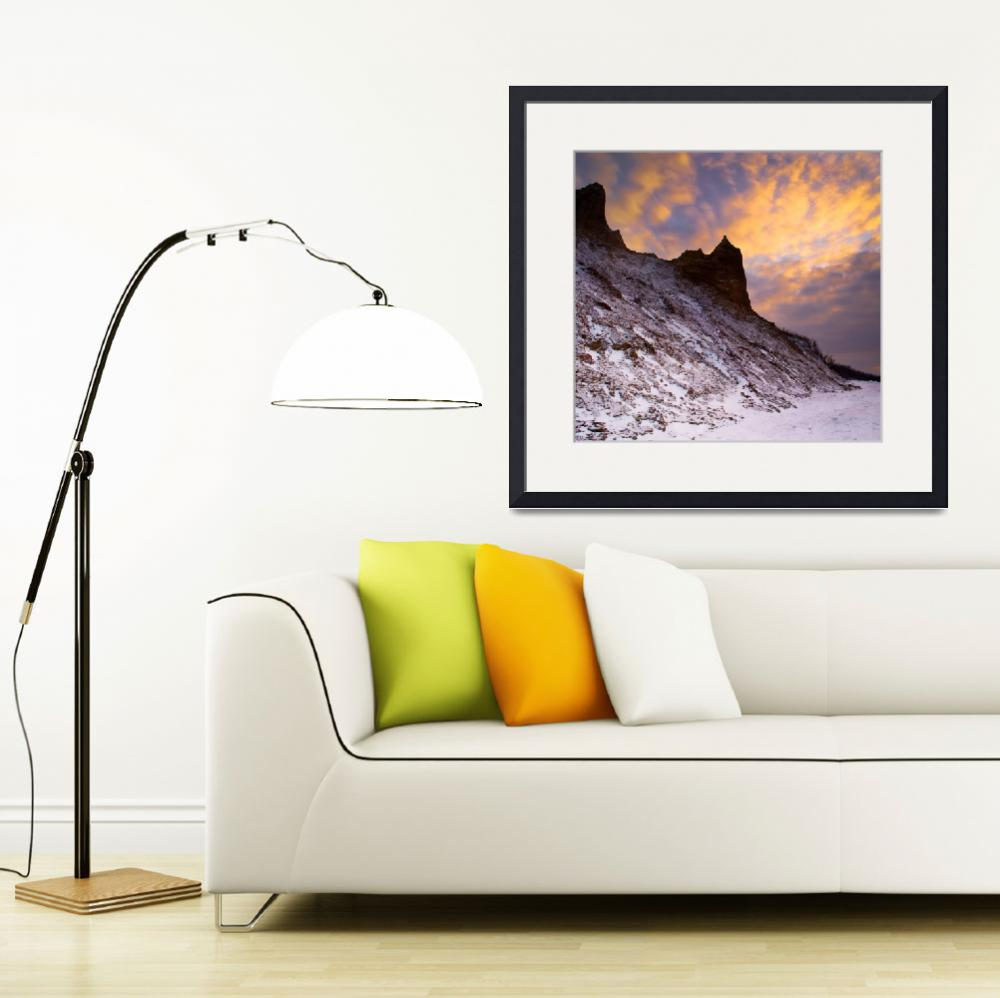 """""""Chimney Bluffs&quot  (2008) by colorblinded"""