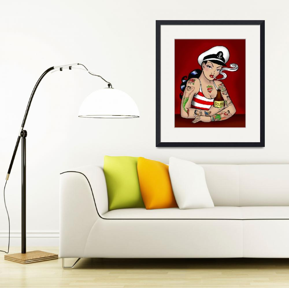 """""""Sailor&quot  (2005) by Evilkid"""