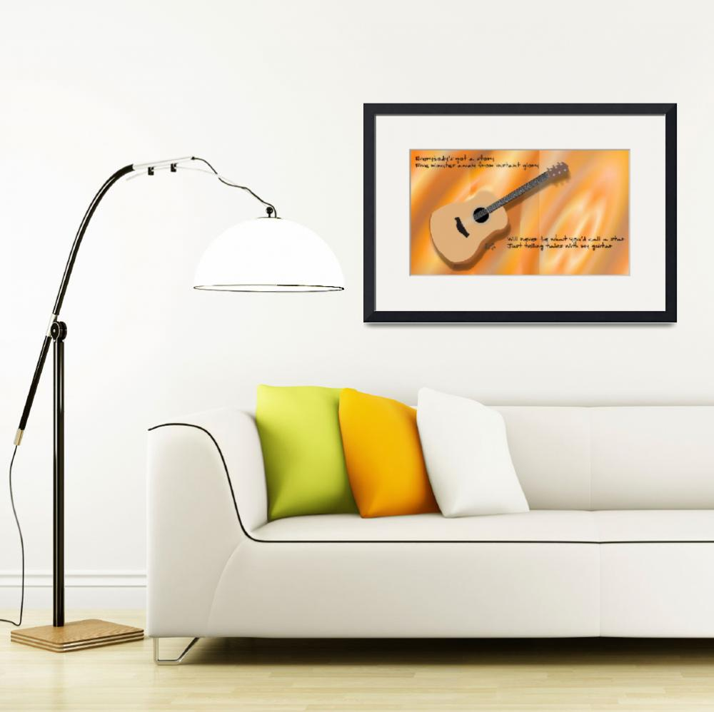 """My Guitar (acoustic)""  (2014) by BillyCooperRice"