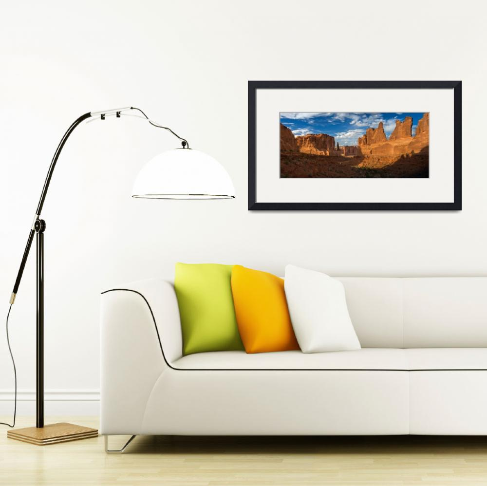 """""""Arches National Park (Panorama)&quot  by pbk"""